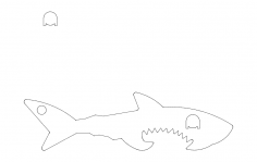 Shark dxf File