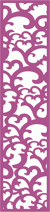 Laser Cut Vector Panel Seamless 182 Free Vector