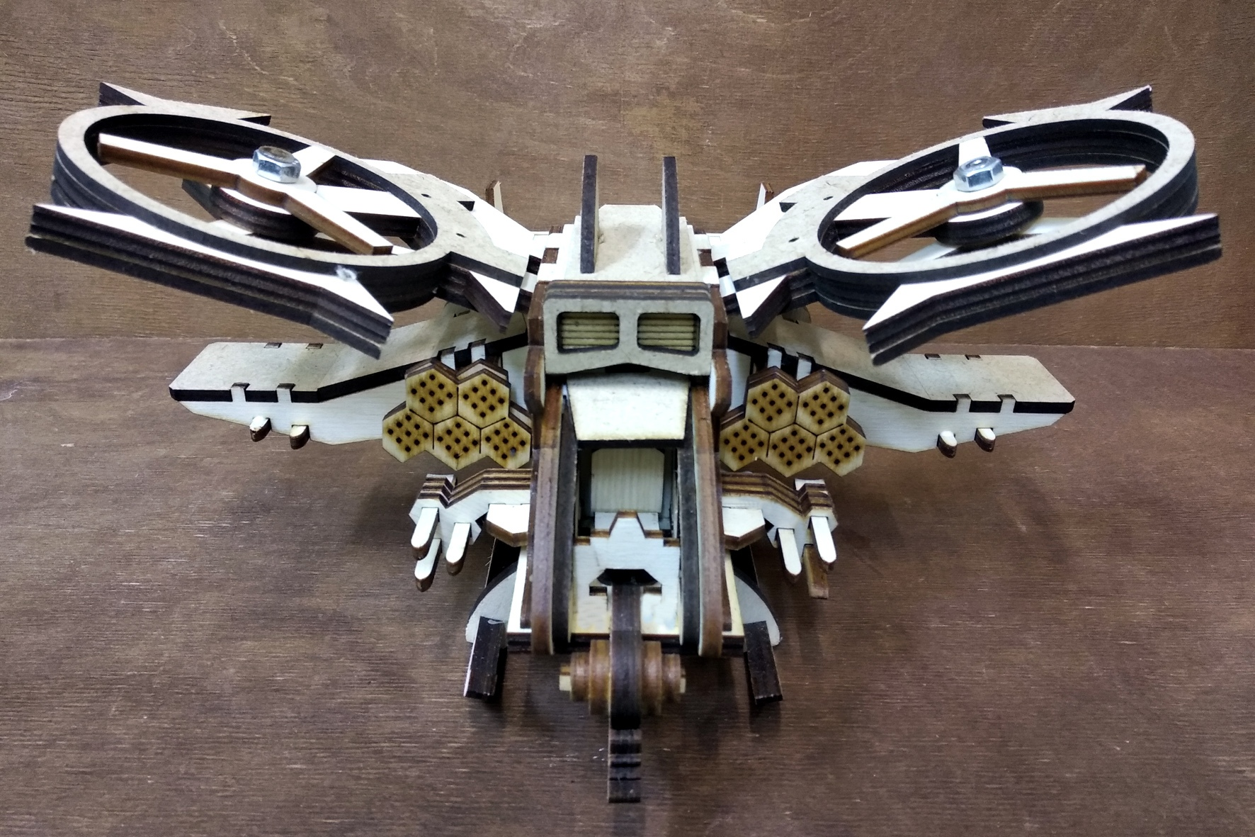 Laser Cut Scorpion Helicopter Avatar Free Vector