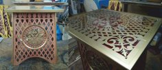 Decor Table CNC Router Laser Plasma Plans Free Vector