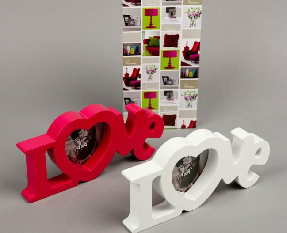 Laser Cut Love Heart Photo Frames Free Vector