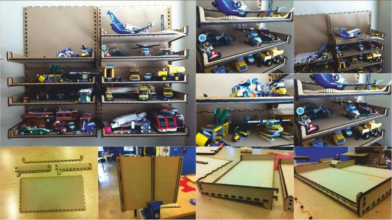 Toys Shelf DXF File