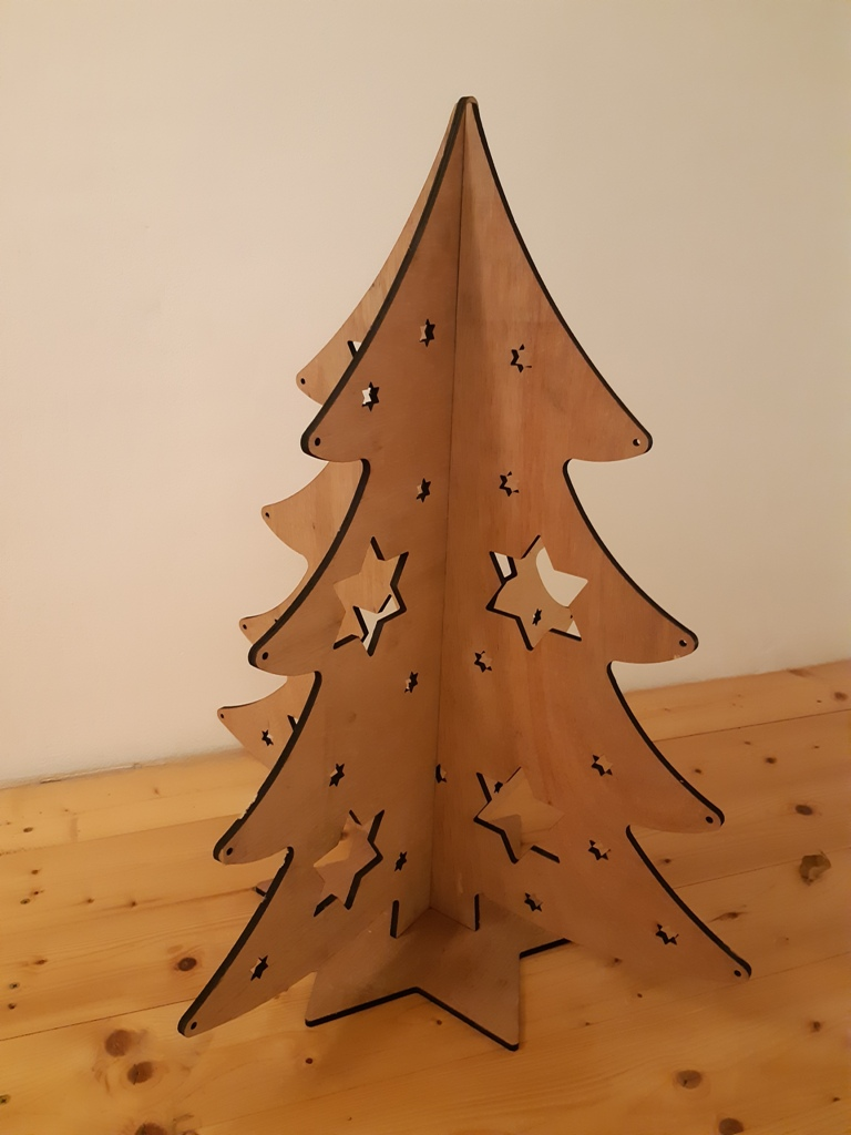Christmas Tree 3mm DXF File