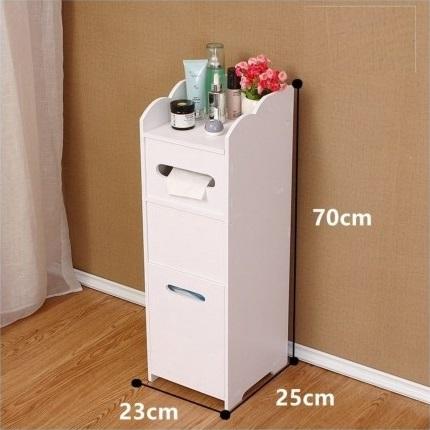 Laser Cut Modern Bathroom Furniture Cabinet Storage Rack DXF File