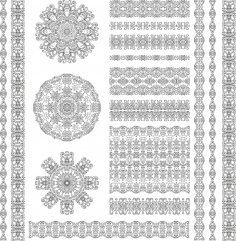 Ethnic Pattern Free Vector