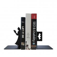 Laser Cut Superhero Batman Bookend Book Stopper Free Vector