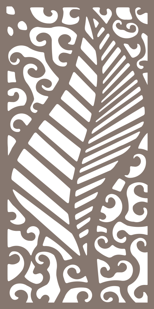 Laser Cut Screen Pattern Vector Free Vector