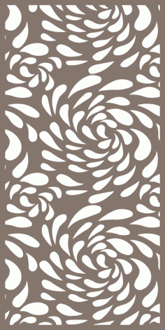 Laser Cut Screen Pattern Free Vector