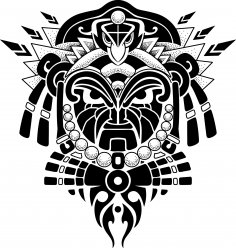 Laser Cut Engrave Maori Patterns Designs Free Vector