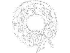 Festive Things 25 dxf File