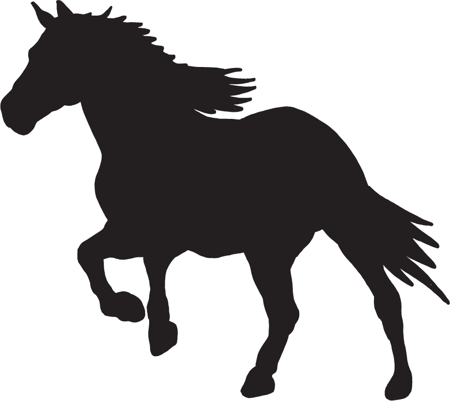 Horse Silhouette Dxf File Free Download 3axis Co