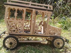 Victorian Car Laser Cutting PDF File