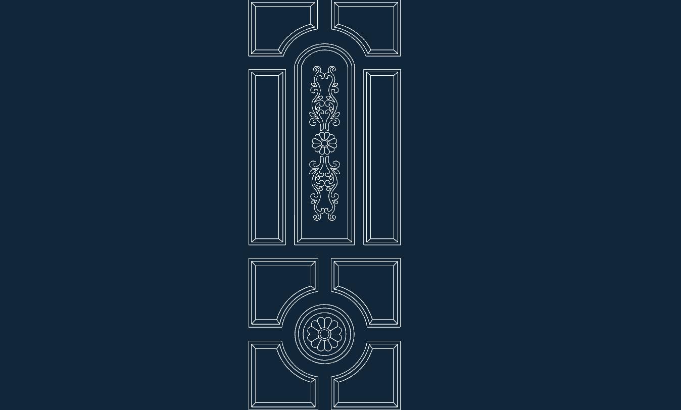 Door Design Dxf Free Download 3axis Co