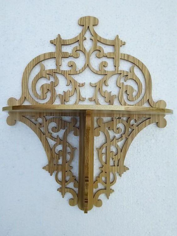 Decorative Shelf CNC Plans PDF File