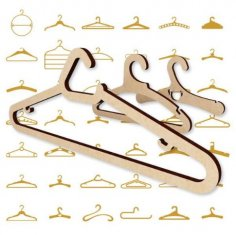 Hanger Pack Vector Set CDR File
