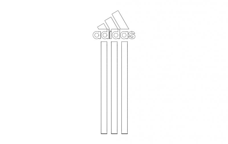 Adidas Na Telefon dxf File