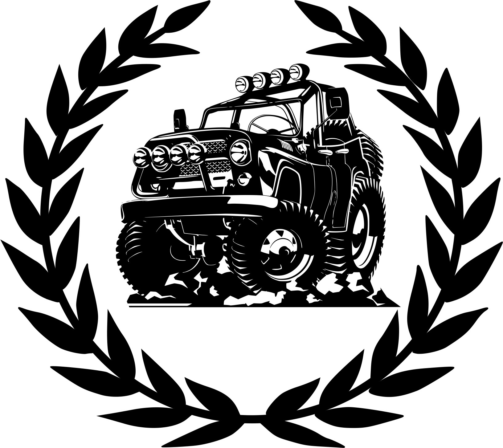 Offroad Vector CDR File