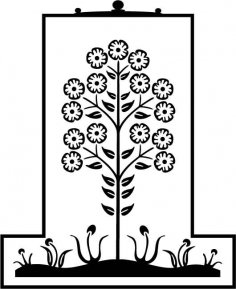 Flower Plant EPS File