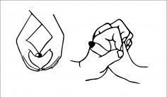 Sweet hands love