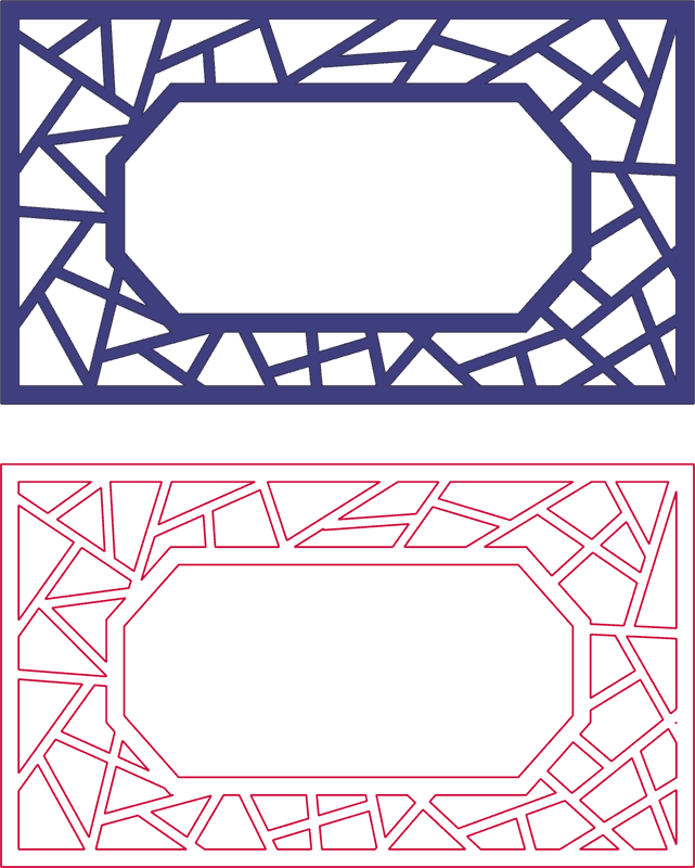 Dxf Pattern Designs 2d 127 DXF File