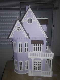 Lasercut Wooden House CDR File