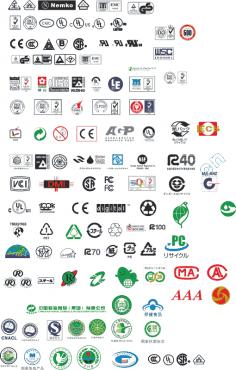 各类认证标志 CDR File