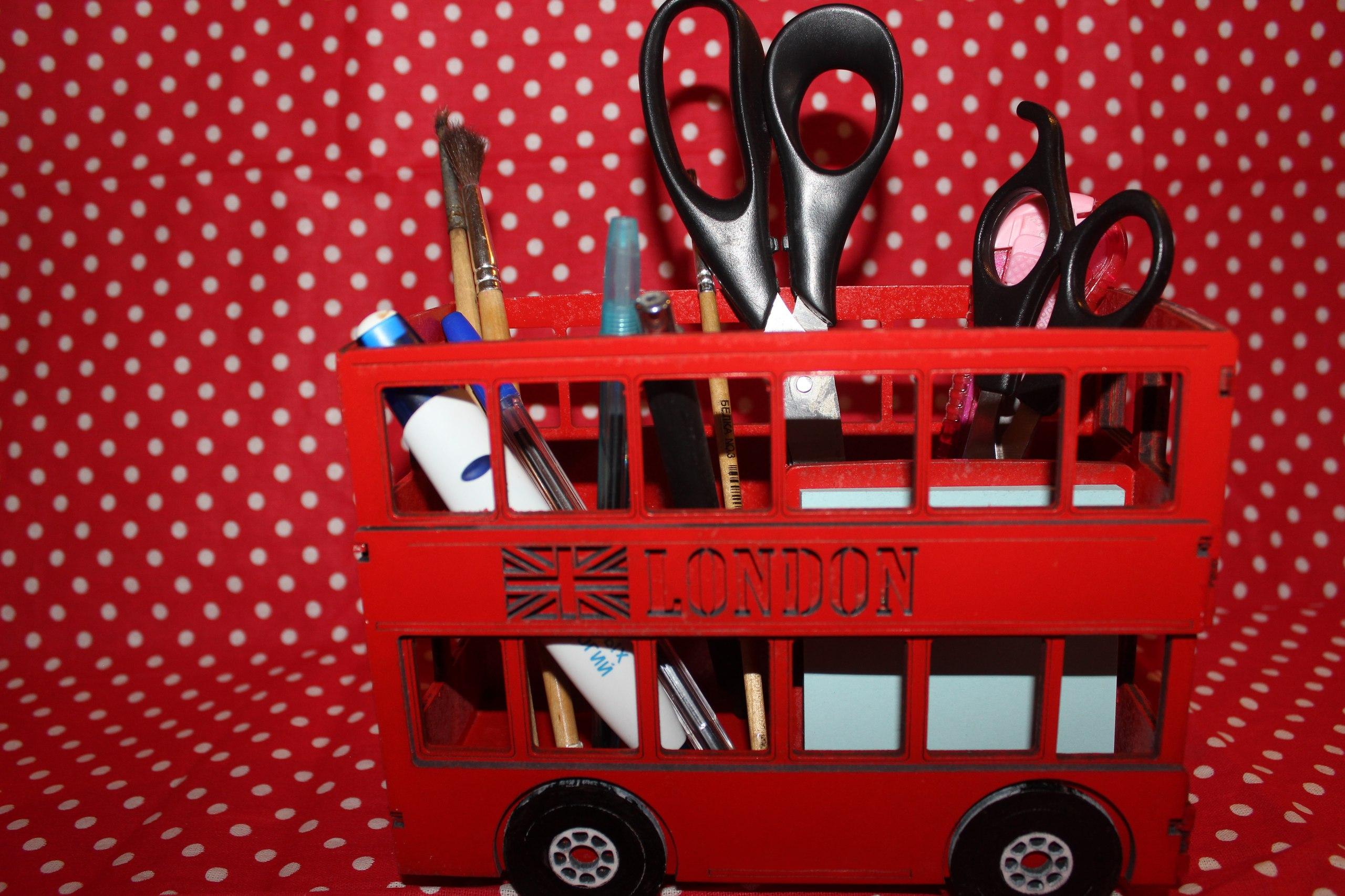 London Bus 3mm DXF File
