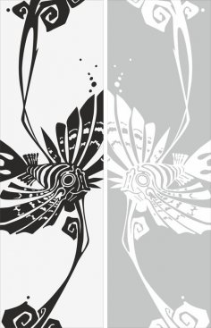Abstract Drawing Sandblast Pattern Free Vector
