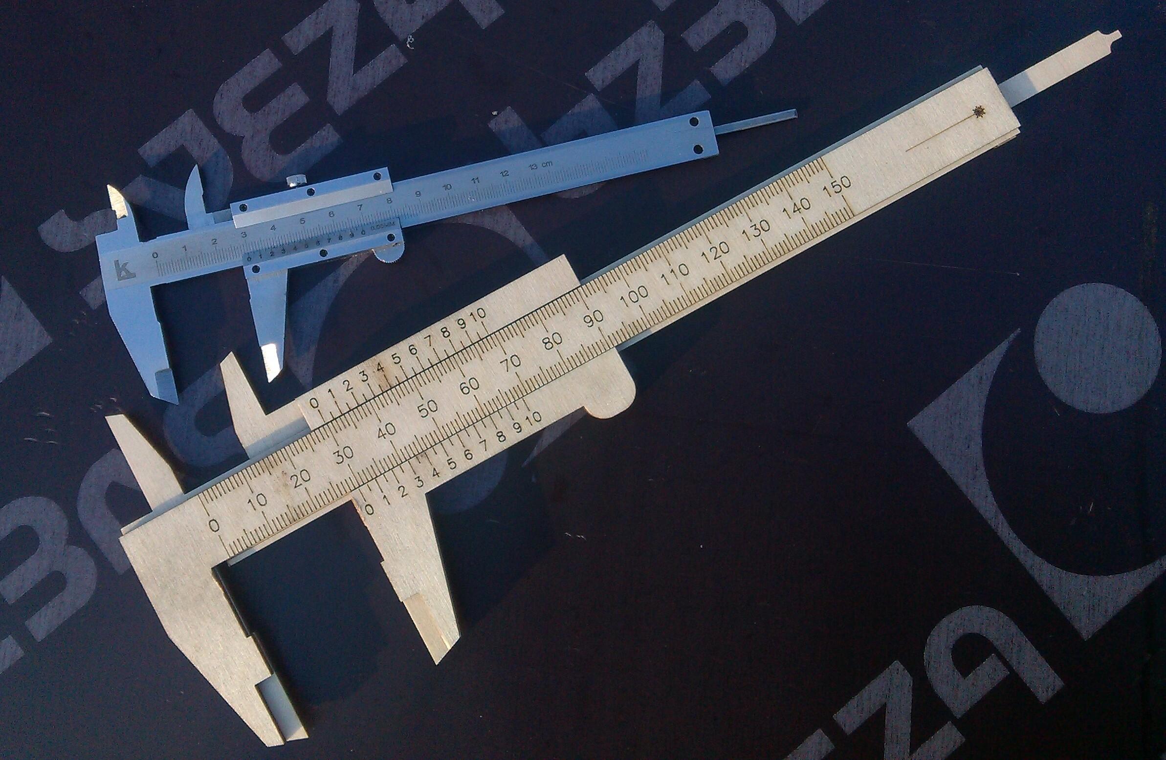 Vernier Caliper DXF File