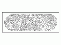 Decorative Pattern DWG File