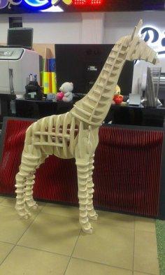 3d Puzzle Giraffe