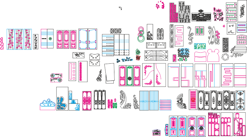 Mega Vector Pack for Laser Cutting Free Vector