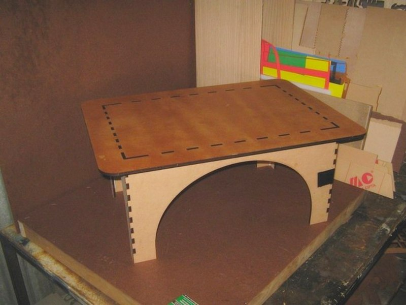 Plywood Table DXF File