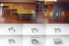 Low Table DXF File