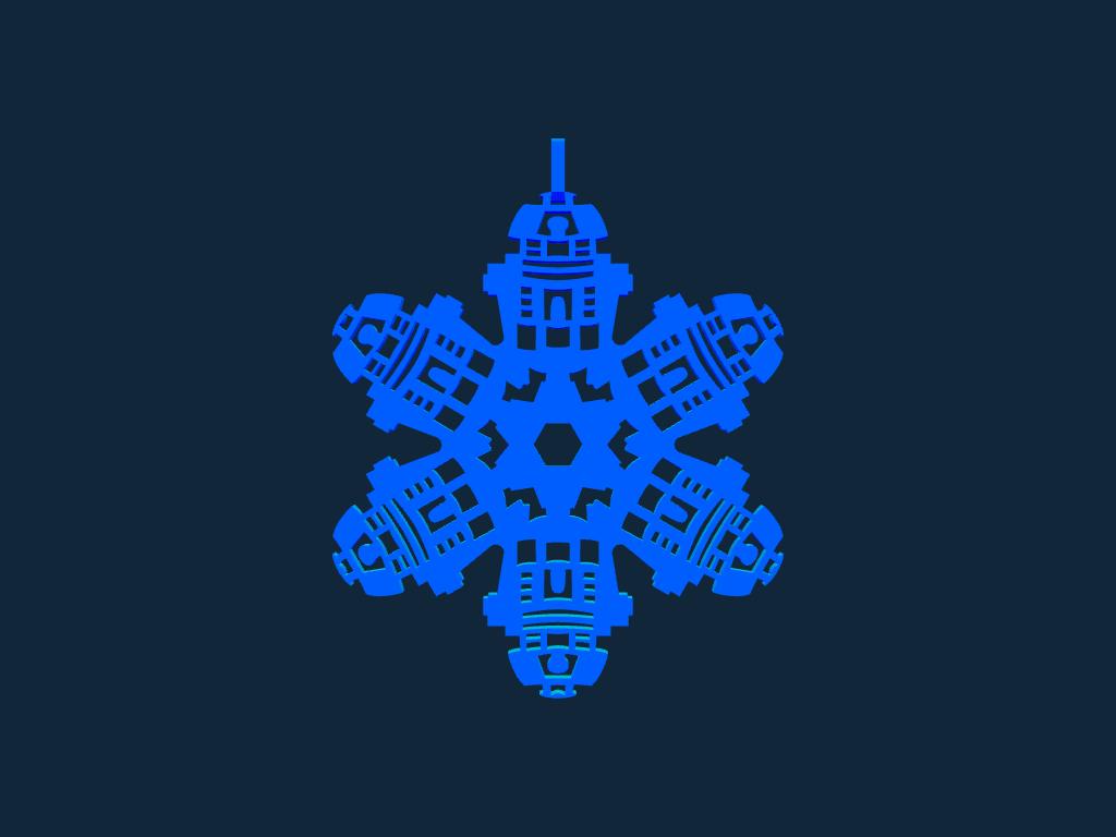 Snowflake stl file