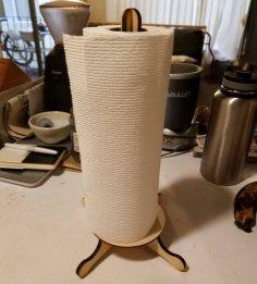 Laser Cut Paper Towel Holder PDF File