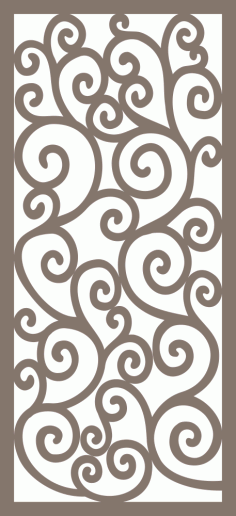 Jali Design Pattern Free Vector