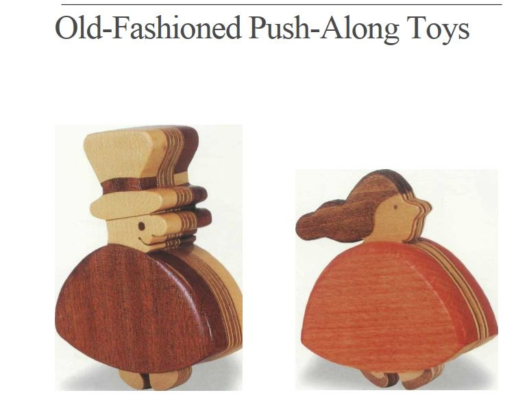 Old-Fashioned Push-Along Toys PDF File