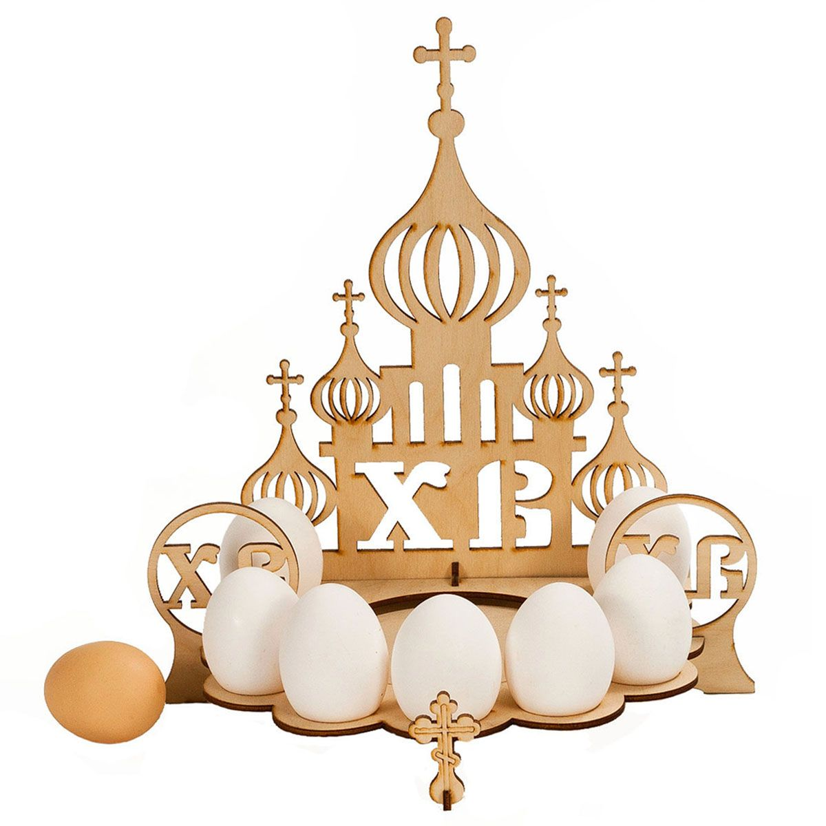 Easter Egg Stand Church Laser Cut Template Free Vector