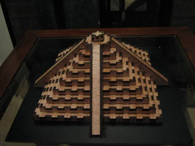 Pyramid DXF File