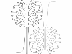 Arvoresdenatal (Christmas trees) dxf File