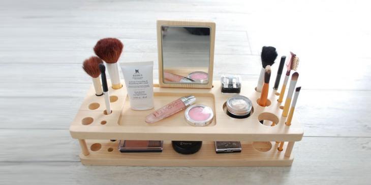 Makeup organizer Laser Cut Free Vector