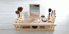 Makeup organizer Laser Cut CDR File