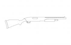 Bb Gun dxf File