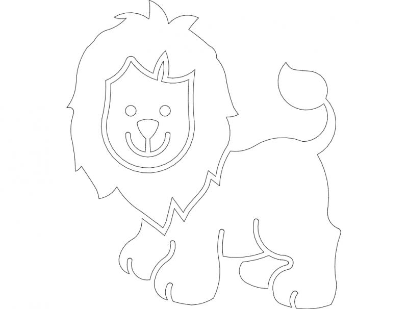 aslan02 dxf File