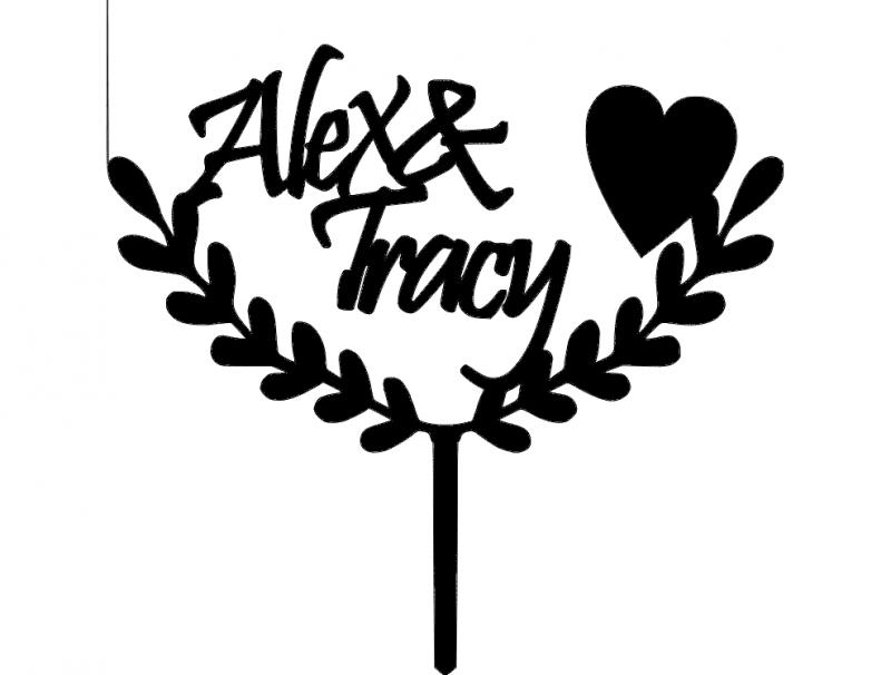 alex- -tracy 03 dxf File