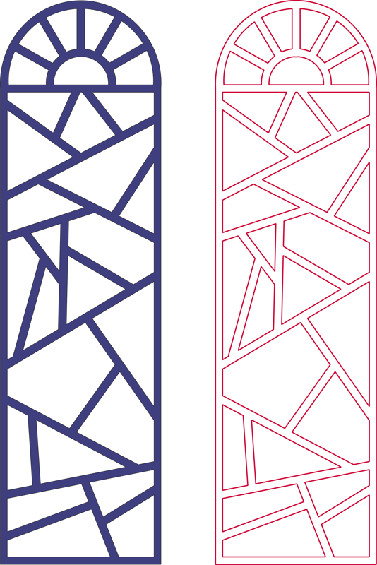 Awesome Grill Designs Pattern Vector dxf File