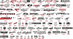 Car Logos And Brands Vector Set Free Vector