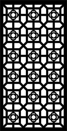 CNC Vector art pattern dxf File