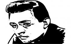 Johnny Cash dxf File